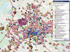 Arriving in Berlin - A map made by refugees (English version)